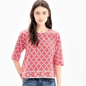 NEW Madewell province blouse in ikat bloom small